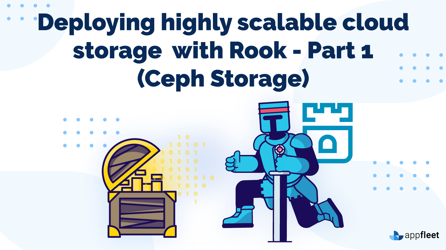 Deploying highly scalable cloud storage with Rook - Part 1 (Ceph Storage)