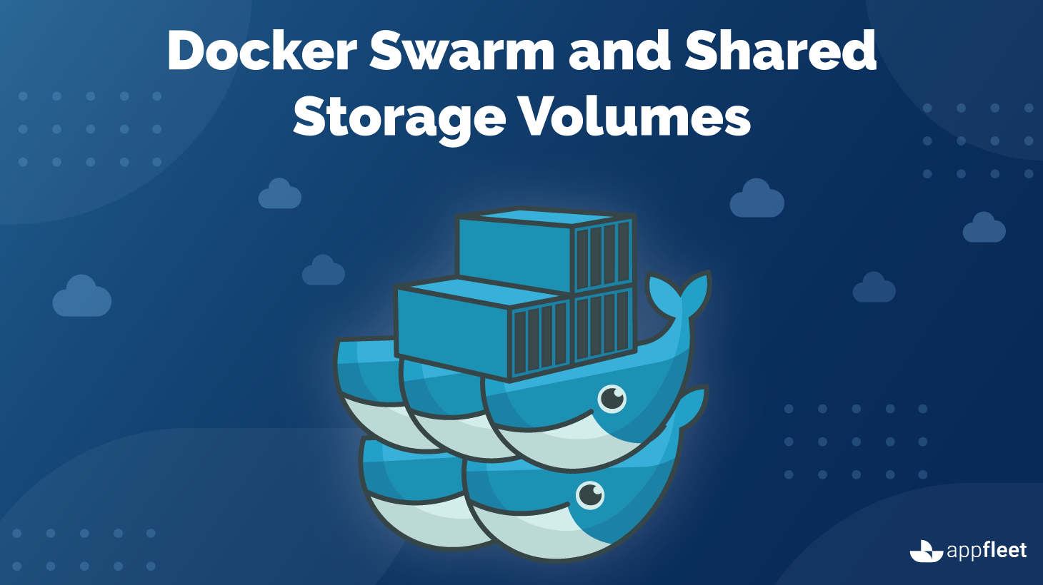 Docker Swarm and Shared Storage Volumes