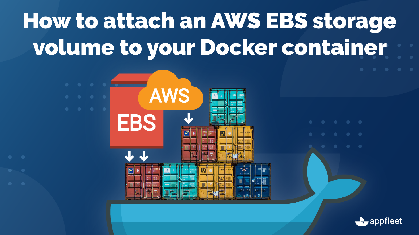 How to attach an AWS EBS storage volume to your Docker container