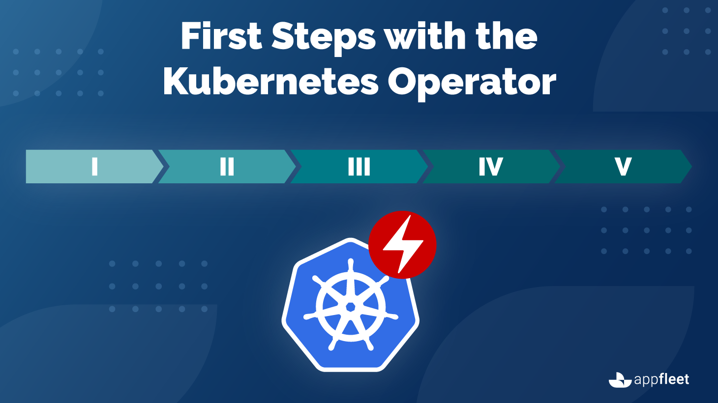 First Steps with the Kubernetes Operator