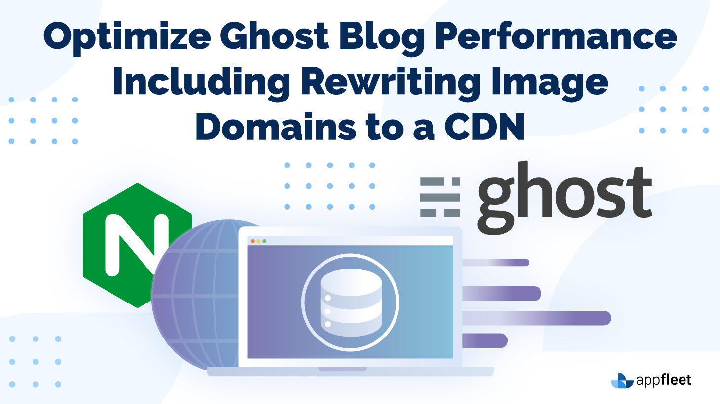 Optimize Ghost Blog Performance Including Rewriting Image Domains to a CDN