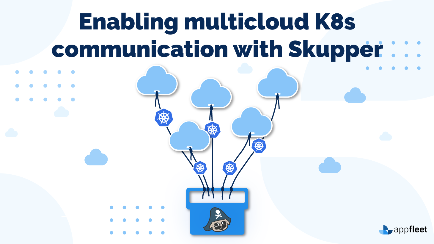 Enabling multicloud K8s communication with Skupper